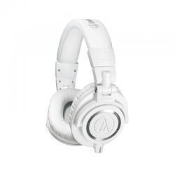 Ausinės Audio-Technica ATH-M50x Professional Monitor Headphones White (Baltos)