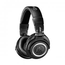 Bevielės Ausinės Audio-Technica ATH-M50xBT Black (Juodos) (Bluetooth 5.0)