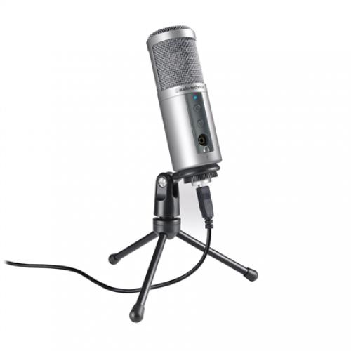 Kondensatorinis Mikrofonas Audio-Technica ATR2500-USB