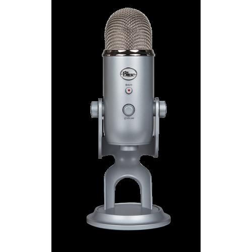Kondensatorinis Mikrofonas Blue Microphones Yeti Silver