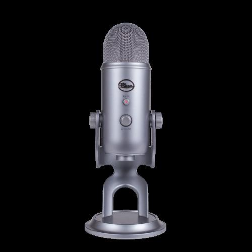 Kondensatorinis Mikrofonas Blue Microphones Yeti Space Grey