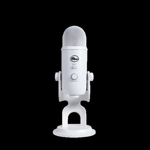Kondensatorinis Mikrofonas Blue Microphones Yeti Whiteout
