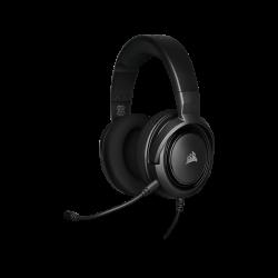 PAŽEISTA PAKUOTĖ! Žaidimų Ausinės Corsair Gaming HS35 Carbon (Juodos)