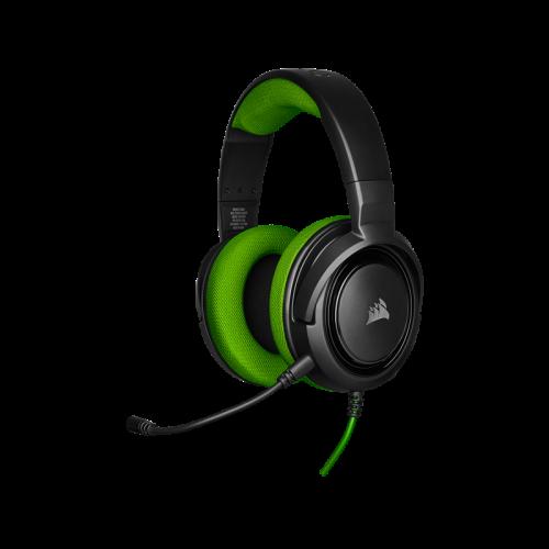 Žaidimų Ausinės Corsair Gaming HS35 Green (Žalios)