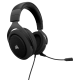 SUPER KAINA! Žaidimų Ausinės Corsair Gaming HS50 Carbon (Juodos)