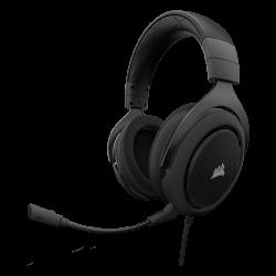 SUPER KAINA! Žaidimų Ausinės Corsair Gaming HS60 Carbon (Juodos) 7.1