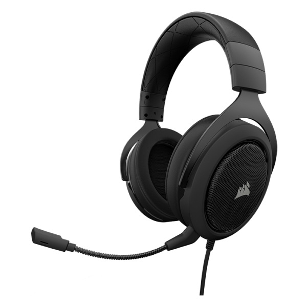 Žaidimų Ausinės Corsair Gaming HS60 Carbon (Juodos) 7.1