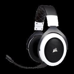 IŠPARDAVIMAS! Bevielės Žaidimų Ausinės Corsair Gaming HS70 White (Baltos) 7.1 (Wireless 2.4G)