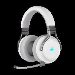 Bevielės Žaidimų Ausinės Corsair Gaming Virtuoso RGB White (Baltos) (Wireless 2.4G)