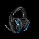 Bevielės Žaidimų Ausinės Logitech G935 Lightsync 7.1 Black (Juodos) (Wireless 2.4G)