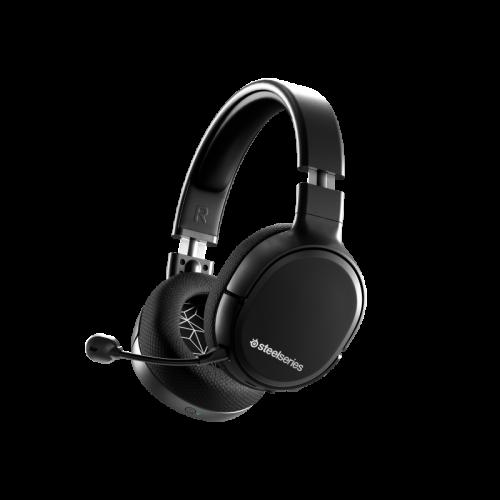 Bevielės Žaidimų Ausinės SteelSeries Arctis 1 Wireless 4-in-1 Black (Juodos)