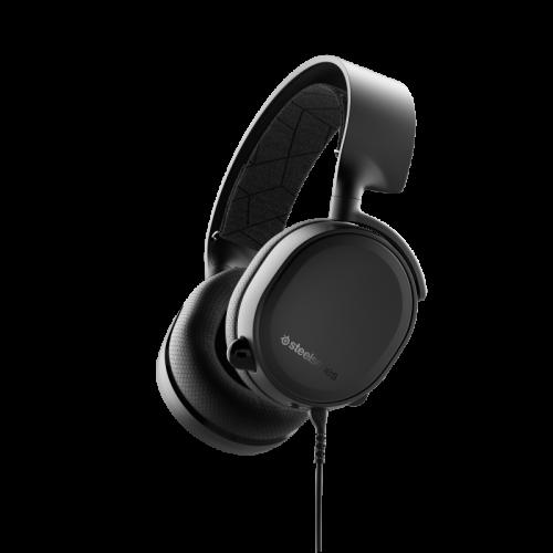 Žaidimų Ausinės SteelSeries Arctis 3 2019 Edition Black (Juodos) 7.1