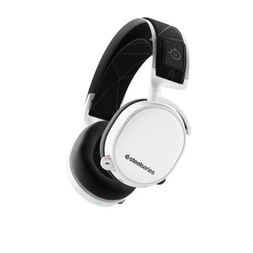 IŠPARDAVIMAS! Bevielės Žaidimų Ausinės SteelSeries Arctis 7 2019 Edition White (Baltos) 7.1 (Wireless 2.4G)