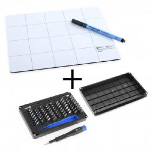 SALE! Profesionalus Įrankių Rinkinys iFixit Mako Driver Kit + Magnetic Project Mat