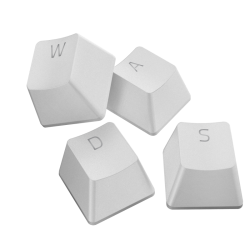 Pakaitiniai Klaviatūros Mygtukai Razer PBT Keycap Upgrade Set Mercury White (Balti)