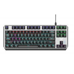 Žaidimų Klaviatūra Aula Aegis Mechanical TKL Keyboard, RED switch - EN layout