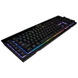 Bevielė Žaidimų Klaviatūra Corsair Gaming K57 RGB LED - EU-UK layout - Membrane (Wireless 2.4G + Bluetooth)