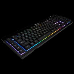Bevielė Žaidimų Klaviatūra Corsair Gaming K57 RGB LED - US layout - Membrane (Wireless 2.4G + Bluetooth)