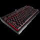 SALE OUT! Žaidimų Klaviatūra Corsair Gaming K63 Red LED - EU-UK layout - Cherry MX Red Switches