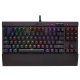 Žaidimų Klaviatūra Corsair Gaming K65 LUX RGB LED - US layout - Cherry MX Red Switches