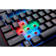 SUPER KAINA! Žaidimų Klaviatūra Corsair Gaming K68 RGB LED - EU-UK layout - Cherry MX Red Switches