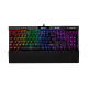 SALE OUT! Žaidimų Klaviatūra Corsair Gaming K70 Mk.2 RAPIDFIRE RGB LED - EU-UK layout - Cherry MX Speed Silver Switches