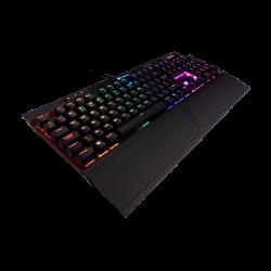 SALE OUT! Žaidimų Klaviatūra Corsair Gaming K70 Mk.2 RAPIDFIRE RGB LED - EU-UK layout - Cherry MX Speed Silver Switches