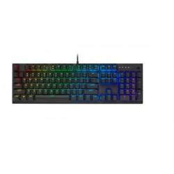 Žaidimų Klaviatūra Corsair Gaming K60 RGB PRO  - US layout - Cherry MX Viola Switches