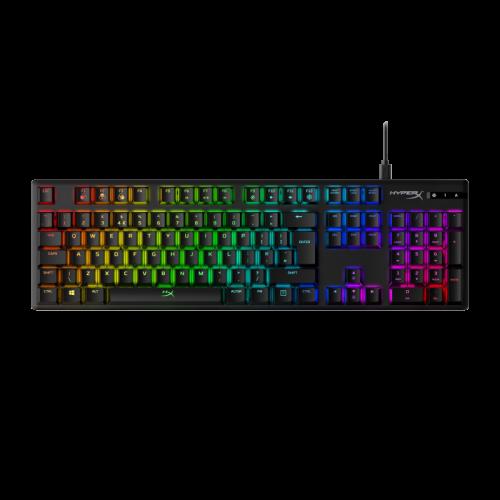 Žaidimų Klaviatūra HyperX Alloy Origins RGB - EU-UK layout - HyperX Aqua Tactile Switches