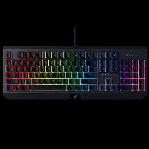 Žaidimų Klaviatūra Razer BlackWidow RGB - US layout - Green Switches