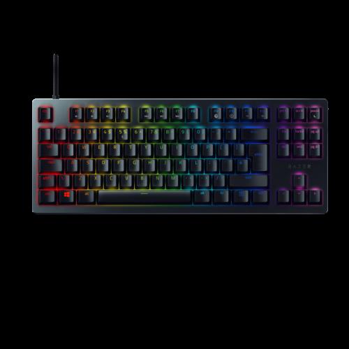 Žaidimų Klaviatūra Razer Huntsman Tournament Edition RGB - US ISO layout - Linear Red Opto-Mechanical Switches