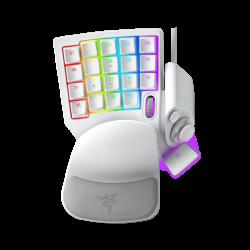 Žaidimų Klaviatūra Razer Tartarus Pro RGB Mercury White - Razer Analog Optical Switches (Balta)