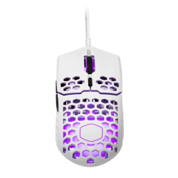Žaidimų Pelė Cooler Master MM711 Glossy White (Balta Blizgi)