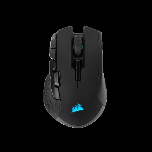 Bevielė-Laidinė Žaidimų Pelė Corsair Gaming IRONCLAW RGB Black (Wireless 2.4G + Bluetooth 4.2) (Juoda)