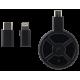 Komplektas: Bevielė Žaidimų Pelė Corsair Gaming Dark Core SE RGB + Pelės Kilimėlis Corsair Gaming MM1000 Qi®