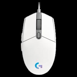 Žaidimų Pelė Logitech G102 LIGHTSYNC (Balta)