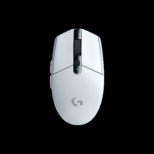 GERA KAINA! Bevielė Žaidimų Pelė Logitech G305 Lightspeed White (Balta)
