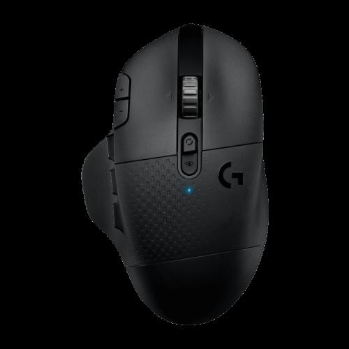 Bevielė Žaidimų Pelė Logitech G604 Hero Lightspeed Black (Juoda) (Wireless 2.4G + Bluetooth 5.0)