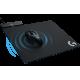 KOMPLEKTAS: Pelės Kilimėlis Logitech Powerplay + Žaidimų Pelė Logitech G703