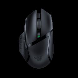Bevielė Žaidimų Pelė Razer Basilisk x HyperSpeed Black (Wireless 2.4G + Bluetooth) (Juoda)