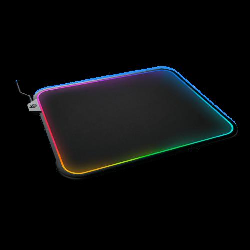 Pelės Kilimėlis SteelSeries QcK Prism Medium Hardpad RGB (M 356.7mm x 292.4mm)