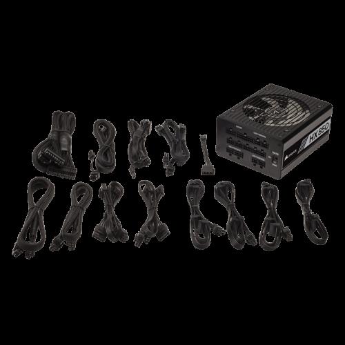 PSU Maitinimo Blokas Corsair HX Series HX850 - 850W 80Plus Platinum ATX