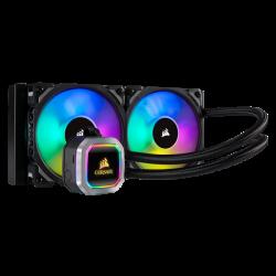 SUPER KAINA! Procesoriaus Aušintuvas Corsair Hydro Series H100i RGB Platinum 240mm Liquid AIO Cooler