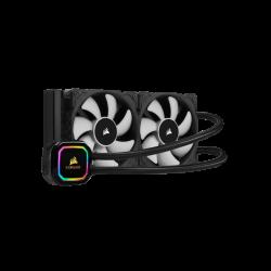 Procesoriaus Aušintuvas Corsair Hydro Series iCUE H100i RGB Pro XT 240mm Liquid AIO Cooler