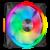 Ventiliatorius Corsair QL Series iCUE QL140 RGB PWM Fan Black (Juodas)