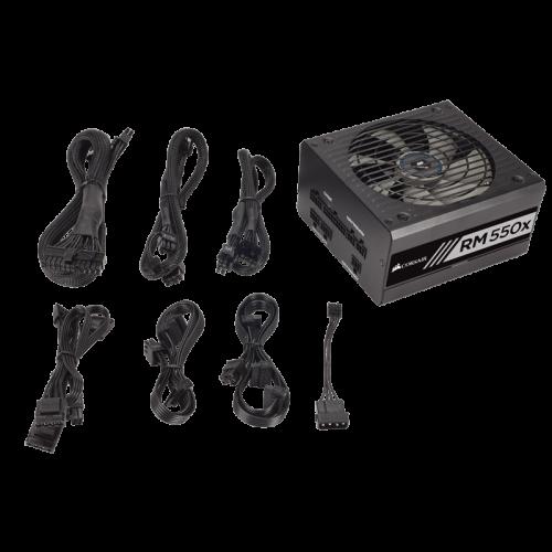 PSU Maitinimo Blokas Corsair RMx Series RM550x - 550W 80Plus Gold ATX