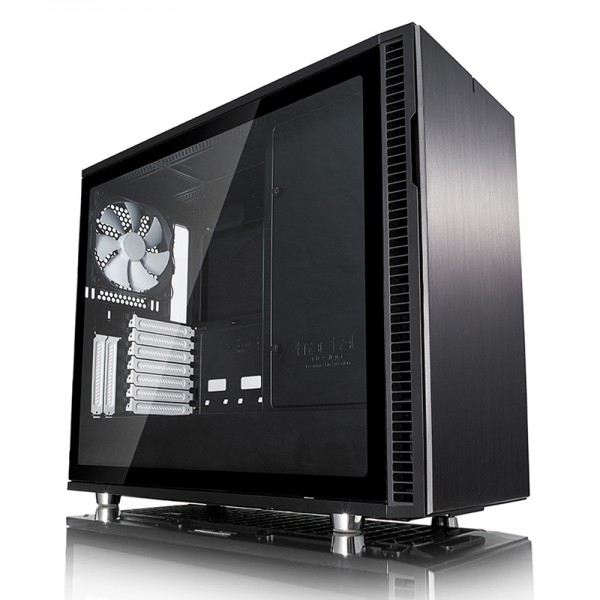 Kompiuterio Korpusas Fractal Design Define R6 USB-C Black TG (Juodas)