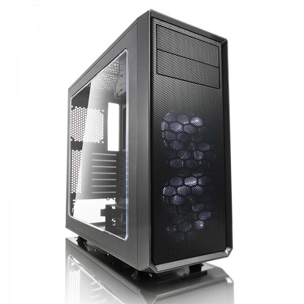 Kompiuterio Korpusas Fractal Design Focus G Gunmetal Grey (Pilkas)