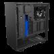 Kompiuterio Korpusas NZXT H Series H500 Mid-Tower Matte Black Blue TG (Juodai Mėlynas)