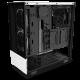 Kompiuterio Korpusas NZXT H Series H510 Elite Mid-Tower Matte White TG (Baltas)